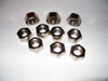 5/8-11 Zinc Plated Hex Nuts - Pkg/10