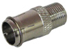PUSH-ON F CONNECTOR - PKG OF 2
